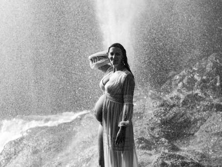 Une séance photos de grossesse, au naturel