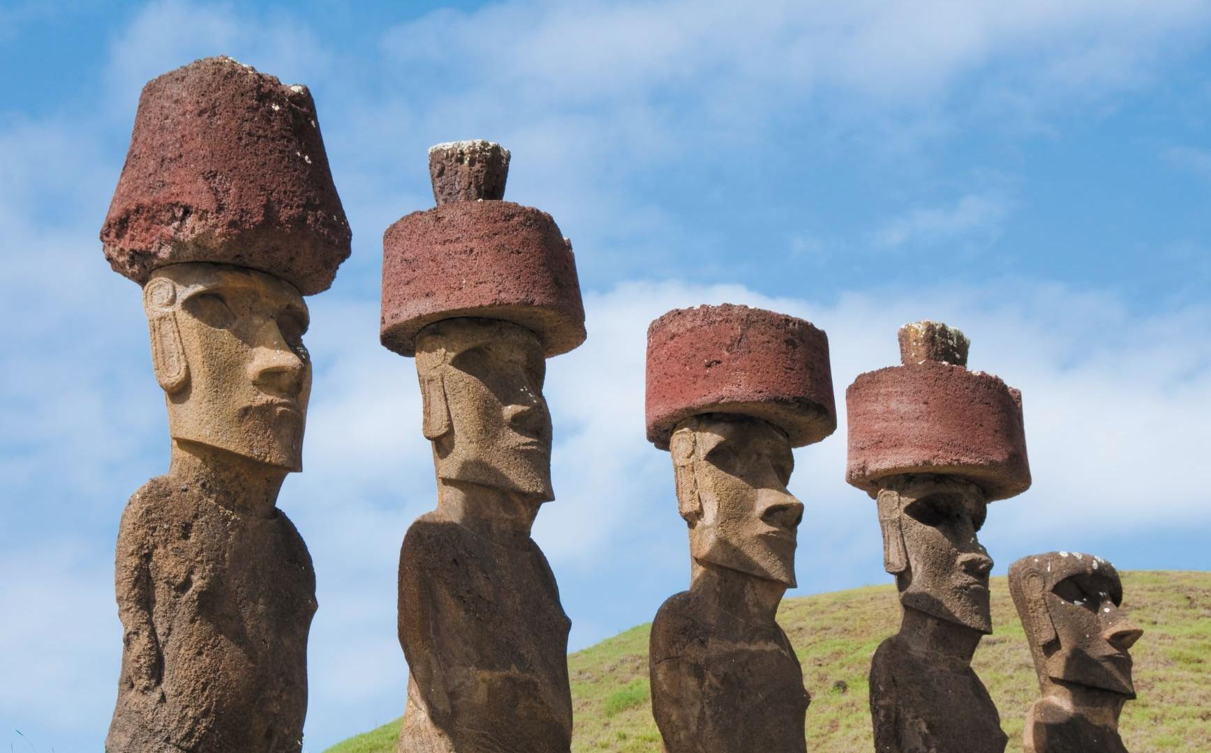 Easter Island - Moai Statues