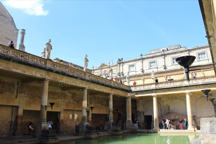 The Bath and Temple complex