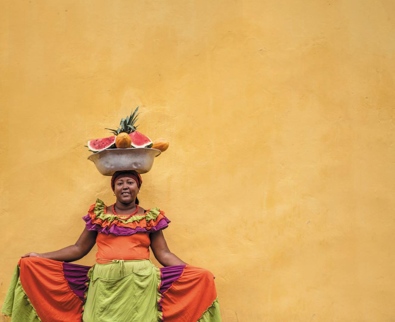 Cartagena - Local woman