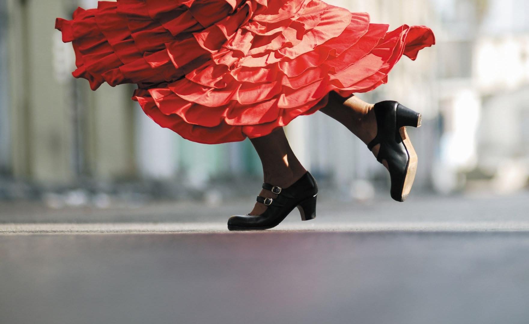 Barcelona - Flamenco Dancer