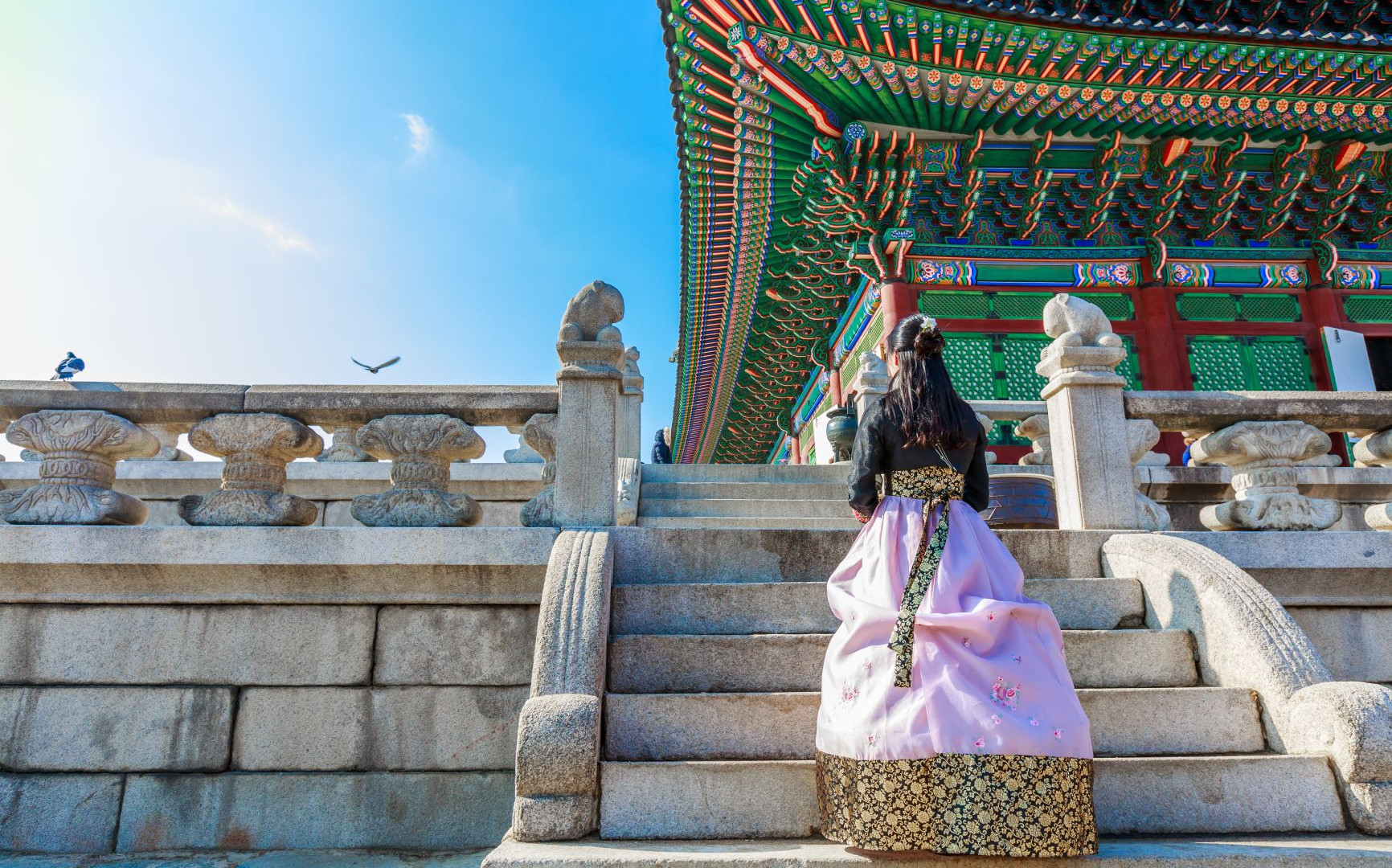 Seoul - Traditional Ladies Dress