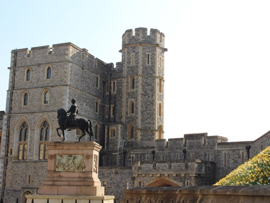 Equestrian Statue of King Charles ll in the Quadrangle