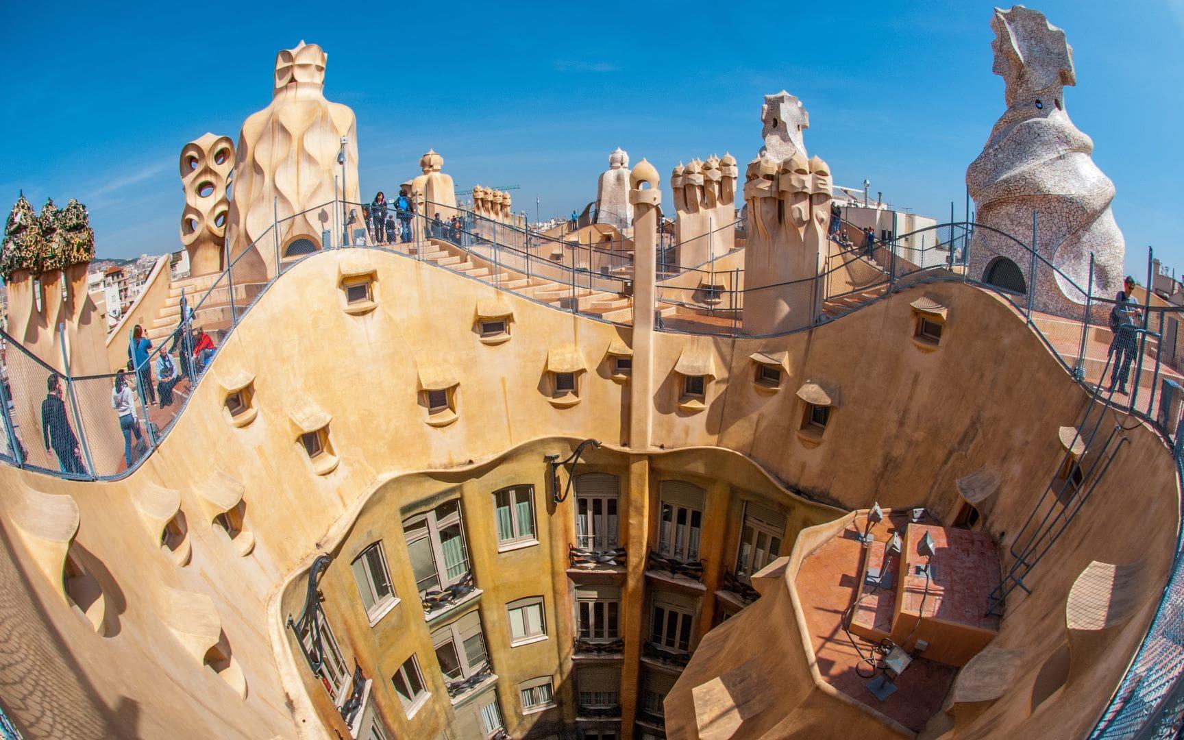 Barcelona - Gaudi District