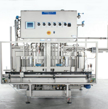 m+f Keg Technik keg filler washer
