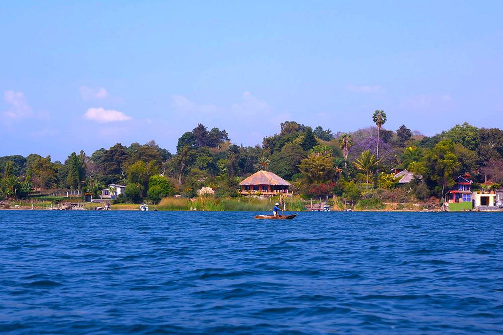 Beautiful Lake Atitlan, Guatemala
