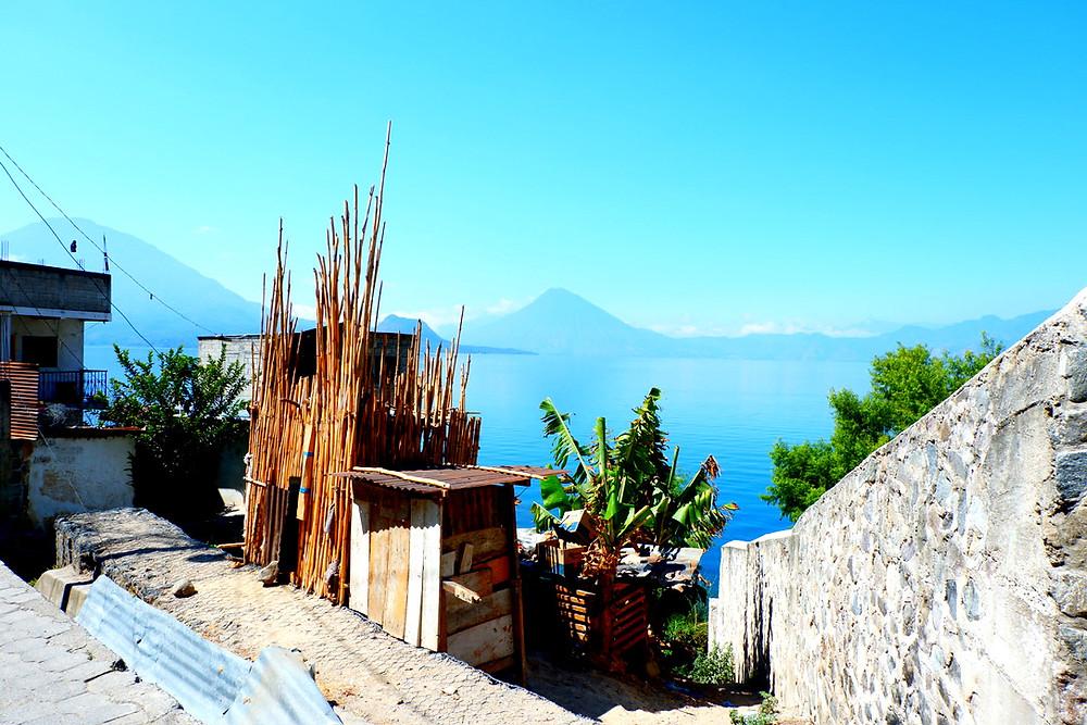 Bamboo House overlooking Lake Atitlan