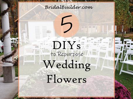 5 DIYs to Re-purpose Wedding Flowers