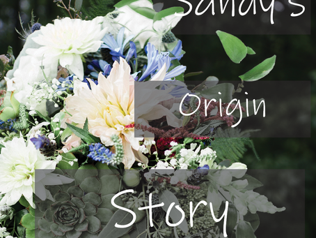 Sandy's Origin Story: Bridal Bouquet Builder