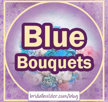 Something Blue - Blue Bouquet Pinterest Board
