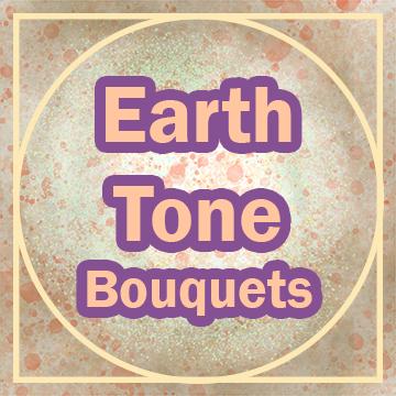 "Title: ""Earth Tone Bouquets"""