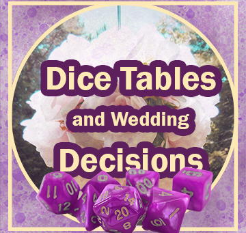 Follow-up: Dice Tables and Bouquet Decisions Part 2
