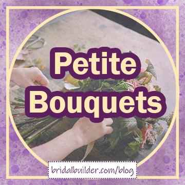 """title graphic: """"Petite Bouquets"""""""