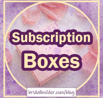 Adjustment Trend: Wedding Subscription Boxes