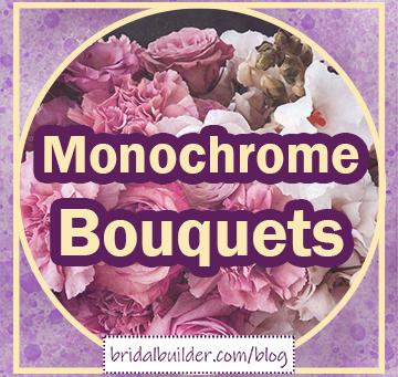 Build a Bouquet with Monochrome Colors