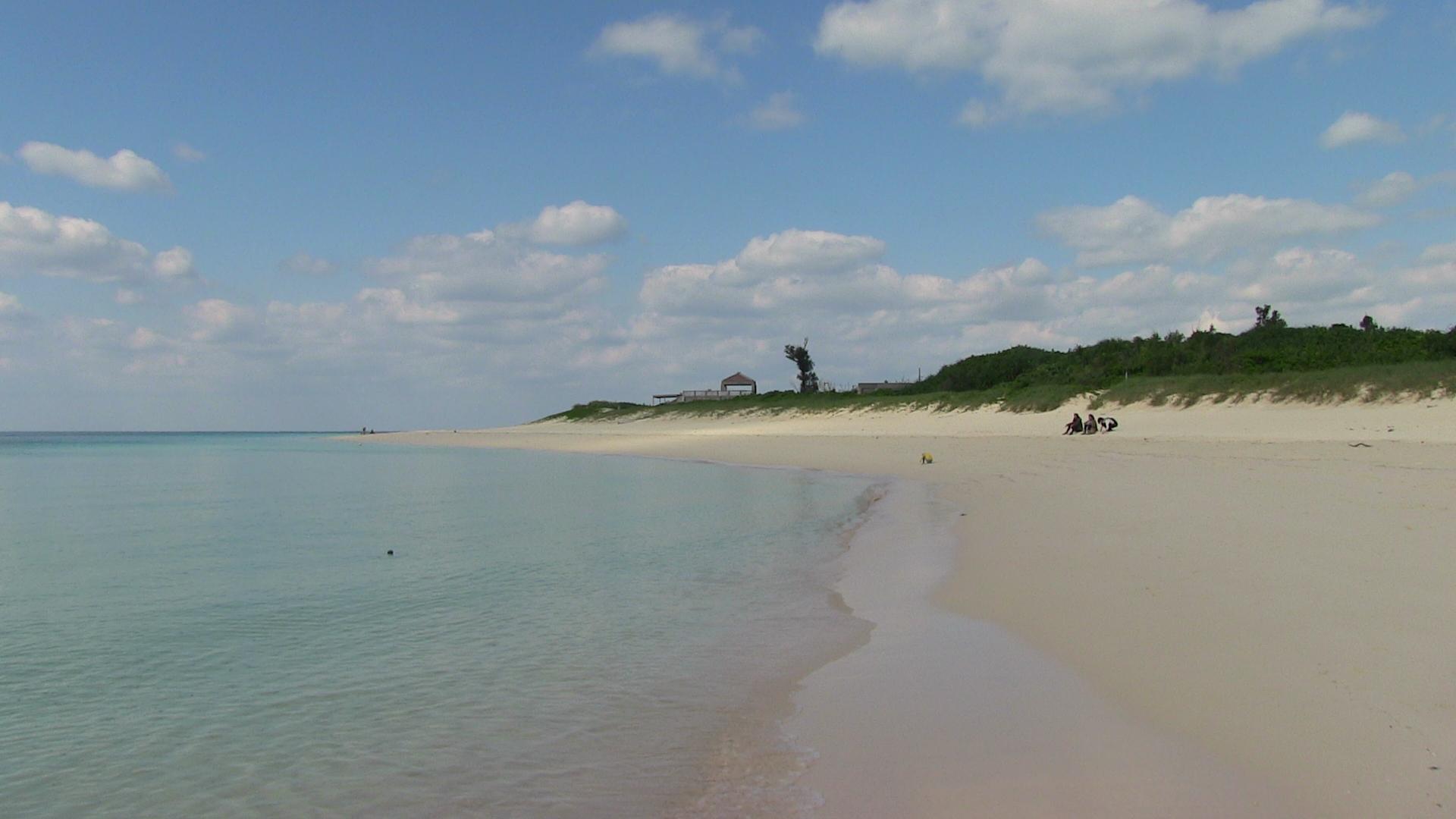 前の浜ビーチ