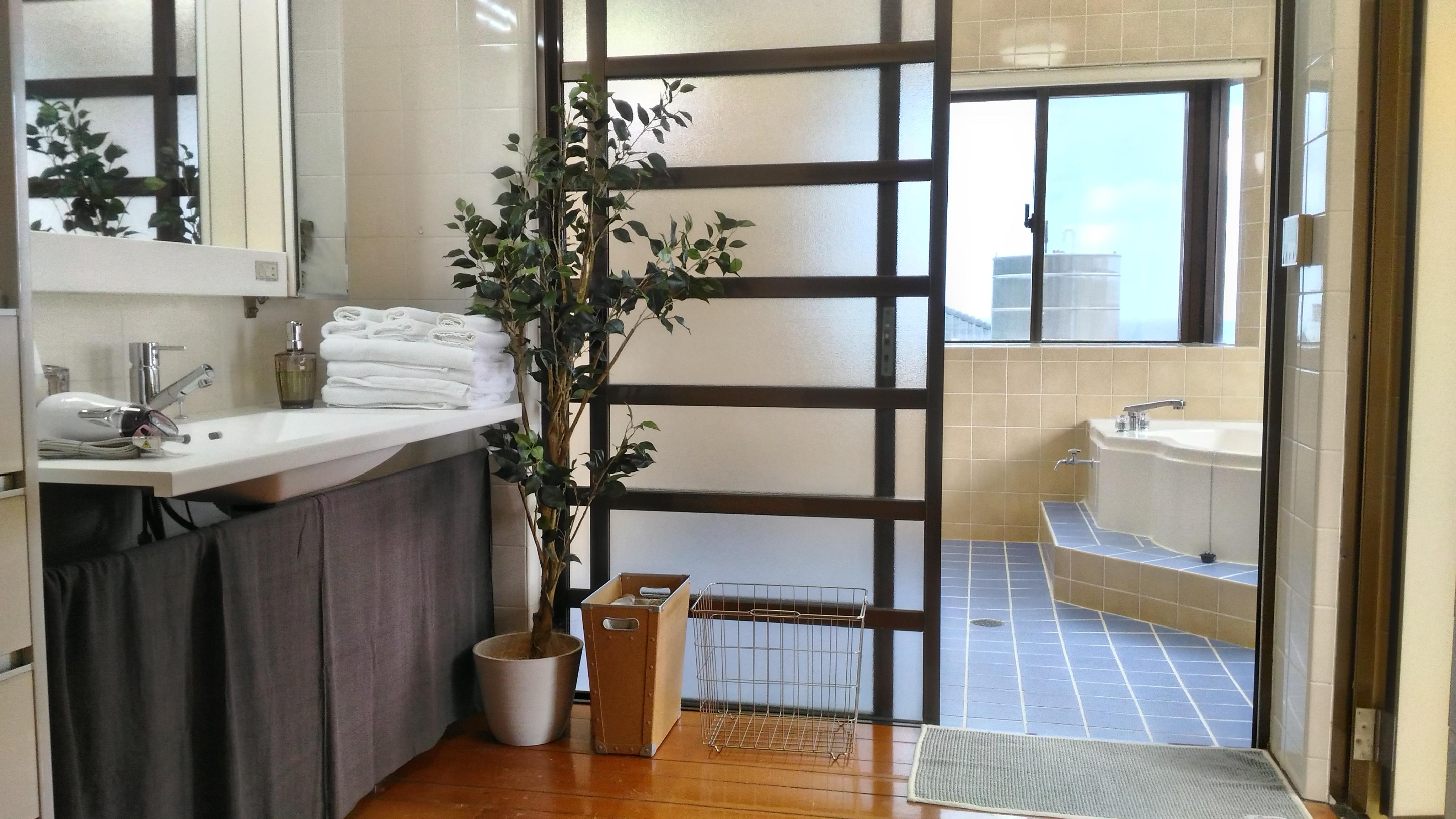 2階washroom&バスルーム