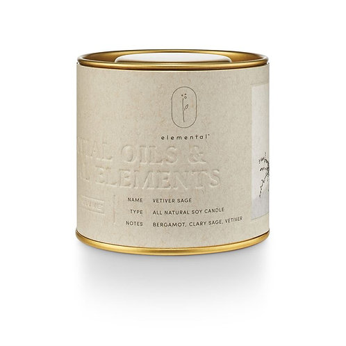 Essential Oil Tin Candle