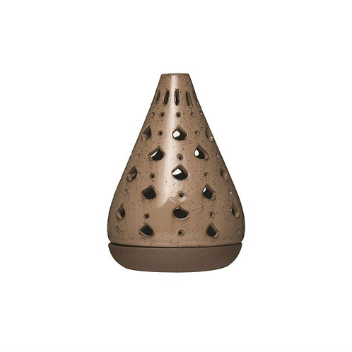 Stoneware Tealight/Incense Holder