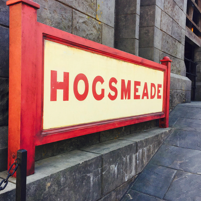 Hogsmeade is real, guys.