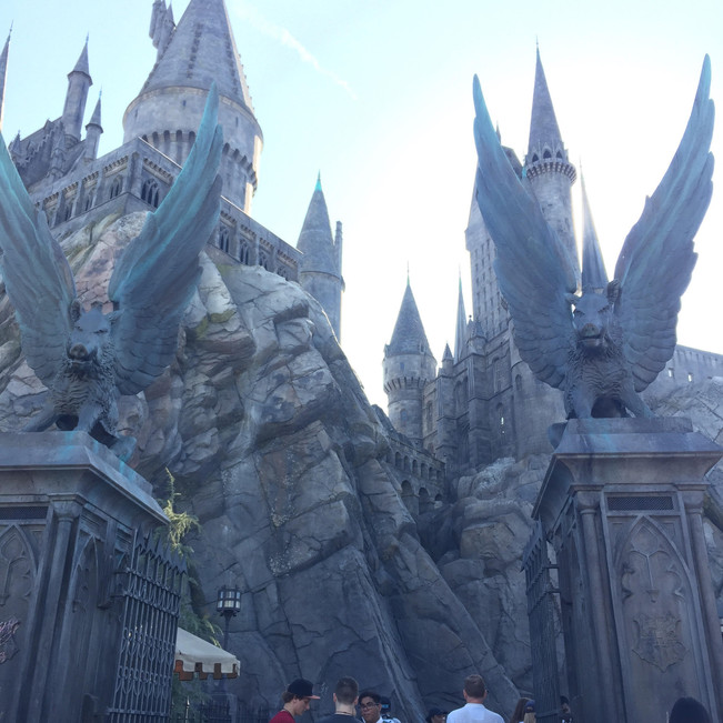 Head to Hogwarts Castle for the Forbidden Journey Ride.