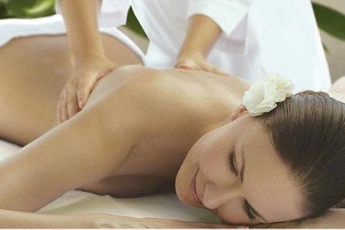 Massage Suédois à l'huile aromatique de votre choix 60 mins