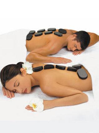 Massage pierres chaudes 90 mins