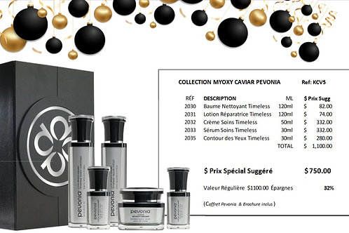 Coffret collection Noël 2020 Myoxy Caviar
