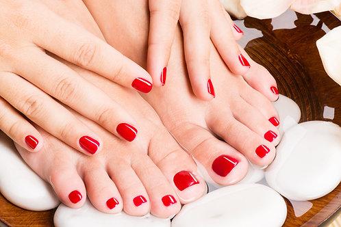 Vernis gel shellac mains et pieds