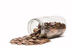 Spilled jar of change.jpeg