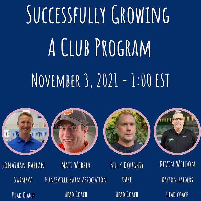 Successfully Growing A Club Program