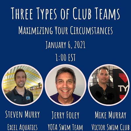 Three Types Of Club Teams - Maximizing Y