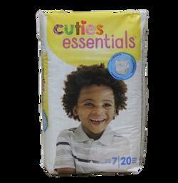 Cuties Essentials size 7