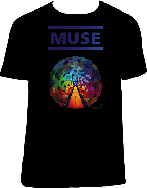 CM261 CAMISETA MUSE THE RESISTANCE