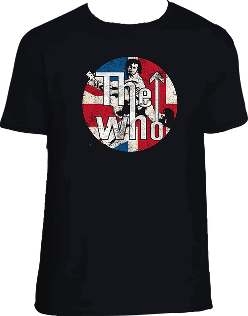 CM086 CAMISETA THE WHO 001