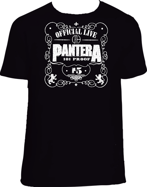 CM130 CAMISETA PANTERA 003 OFFICIAL LIVE N. 5