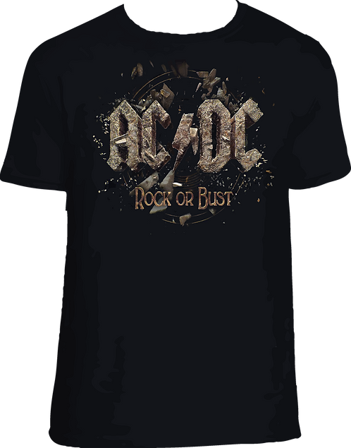 CM113 CAMISETA ACDC ROCK OR BUST
