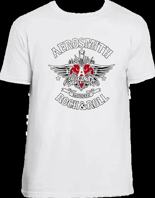 CM004 CAMISETA AEROSMITH ROCK AND ROLL
