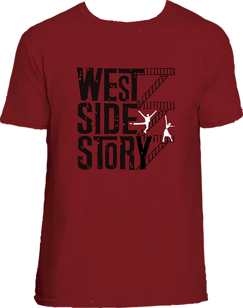 CAMISETA WEST SIDE STORY BROADWAY