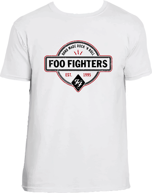 CM017 CAMISETA FOO FIGHTERS LOGO