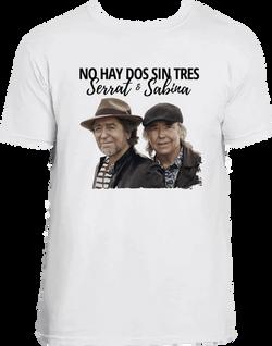 SERRAT Y SABINA 1 CAMI BLANCA
