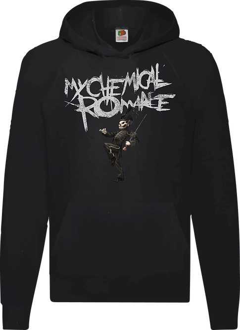 SUDADERA CHEMICAL ROMANCE BLACK PARADE - CMS165