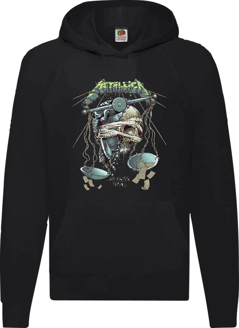 SUDADERA METALLICA ...AND JUSTICE FOR ALL - CMS176