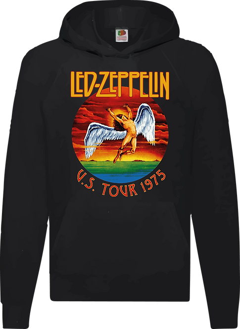 SUDADERA LED ZEPPELIN US TOUR '75 - CMS166