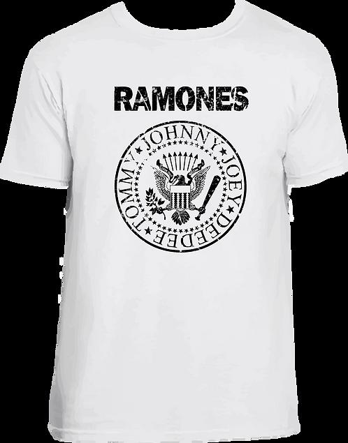 CM048 CAMISETA RAMONES LOGO