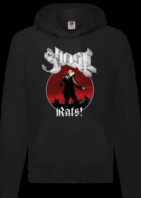 SUDADERA GHOST - RATS! - CMS265