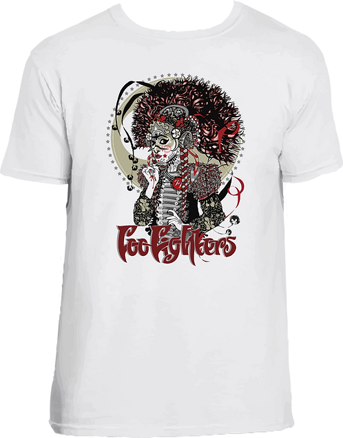 CM019 CAMISETA FOO FIGHTERS 002
