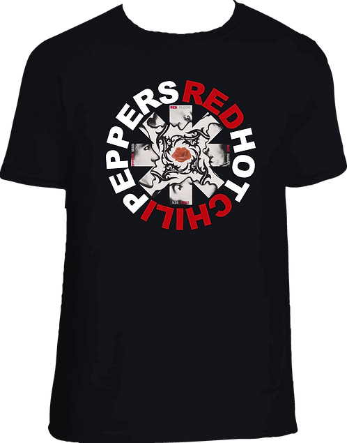 CM050 CAMISETA RED HOT CHILI PEPPERS BLOOD-SUGAR