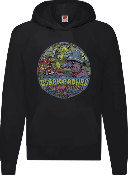 SUDADERA THE BLACK CROWES LIVE IN LONDON - CMS194