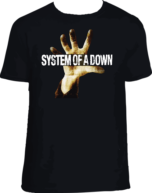 CM149 CAMISETA SYSTEM OF A DOWN MANO